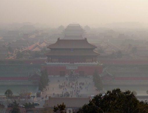 Poluição na China Bloqueia o Sol