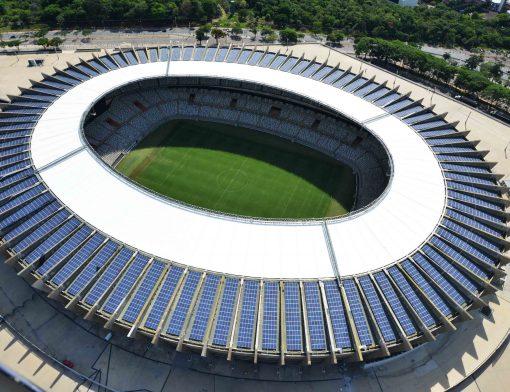 Confira os 5 estádios brasileiros que utilizam energia solar